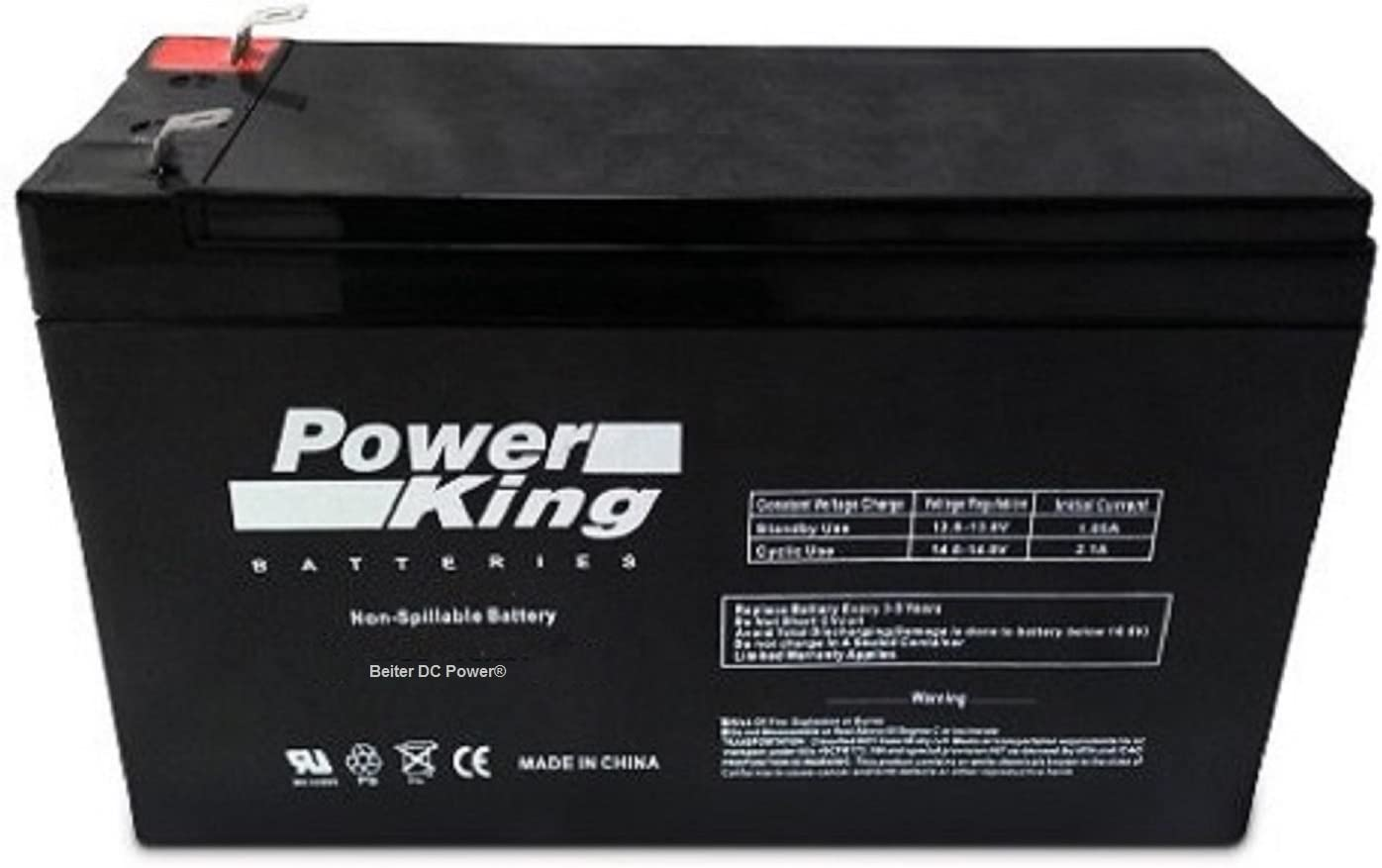 Compatible APC Back-UPS ES 500VA UPS Series Replacement Battery for Model BE500C