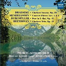 Draeseke, Burgm??ller, Mendelssohn, Beethoven Clarinet Sonatas/Trio by Ludwig van Beethoven (2011-04-12)