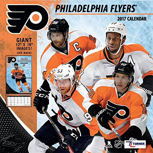 "Turner Licensing Sport 2017 Philadelphia Flyers Team Wall Calendar, 12""X12"" (17998011951)"