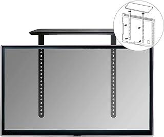Soporte para barra de sonido Mahara TV, posición encima o debajo del televisor y con o sin soporte de pared para TV - por ...