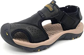 Classic Men Sandals Comfortable Summer Shoes Leather Sandals Big Size Sandals