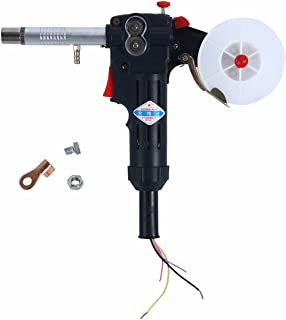 YaeTek MIG Spool Gun Push Pull Feeder Aluminum Welding Torch without Cable Fits Miller 180A