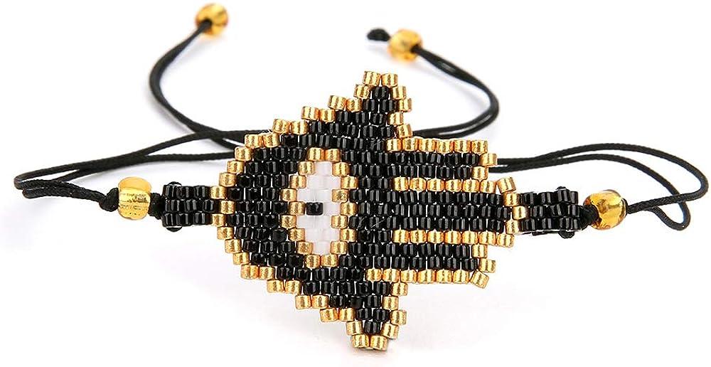 BALIBALI Handmade 100% Authentic Miyuki Seed Beads Couples Brace