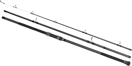 Shakespeare Unisex's Sigma Supra 3-Piece Beach Caster Rod-Grey, 13 ft/Size 4/8 oz