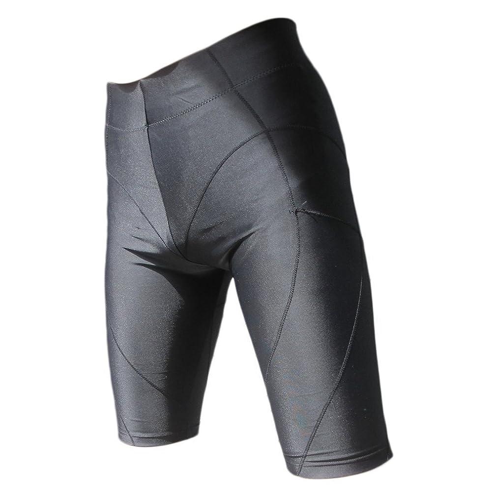 当社踊り子アラームスパルタックス 加圧パンツ 加圧スパッツ 加圧インナー メンズ 加圧下着 姿勢 (ブラック,L-XL)