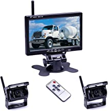 $87 » Sponsored Ad - Wireless Backup Camera System 7'' Car Backup Camera Monitor for Trucks,Cars,SUVs,Pickups,Vans,Campers HD Co...