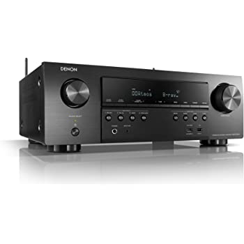 Denon AVR-S750H Receiver, 7.2 Channel (165W x 7) - 4K Ultra HD Home Theater (2019) | Music Streaming | New - eARC, 3D Dolby Surround Sound (Atmos, DTS/Virtual Height Elevation) | Alexa + HEOS