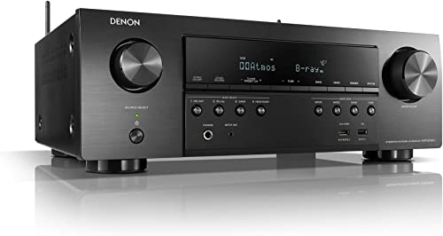 Denon AVR-S750H Receiver, 7.2 Channel (165W x 7) - 4K Ultra HD Home Theater (2019) | Music Streaming | New - eARC, 3D...