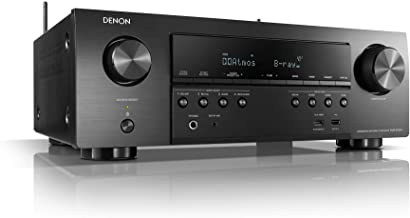 Denon AVR-S750H Receiver, 7.2 Channel (165W x 7) - 4K Ultra HD Home Theater (2019) | Music Streaming | New - eARC, 3D Dolb...