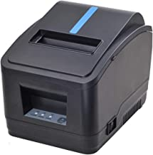 Receipt Printer, 80MM USB LAN Ethernet Pos Thermal Kitchen Printer, MUNBYN Windows Printer with Auto Cutter Support DHCP A...