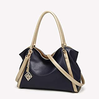Women's Leather Tote Fashion large capacity Daily use High Quality Durable Gift Travel Pocket Waterpro of School Work Shoulder bag Crossbody bag