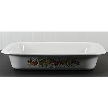 Aquamarine Vintage Retro Oval Dish Gratin Dish