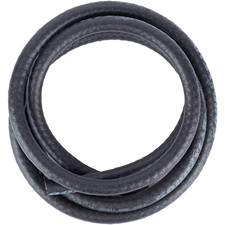 JS Jackson Supplies Rubber Fuel Line 1/4-in Inner Diameter X 1/2-in Outer Diameter for Small Engines, 6-ft Length