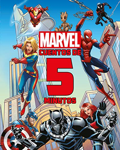 Marvel. Cuentos de 5 minutos (Marvel. Superhéroes)