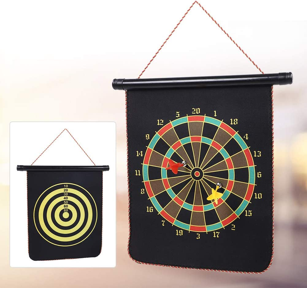 BTER Magnetic Indoor At the price of surprise Hanging Dartboard Set Wall-Mount Max 64% OFF