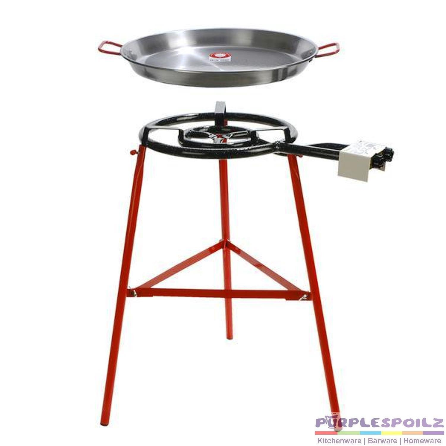 Paella Pan Burner Stand Set