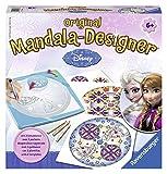 Ravensburger Mandala Designer Frozen 29841, Zeichnen lernen mit Anna, Elsa und ihren Freunden für Kinder ab 6 Jahren, Kreatives Zeichen-Set mit Mandala-Schablonen für farbenfrohe Mandalas