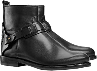 Tory Burch Women's Galleon Leather Ankle Bootie Boots Perfect Black