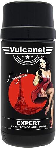 Vulcanet Lingettes Nettoyage Auto Moto + Microfibre