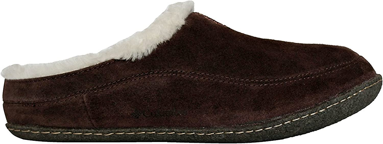 Columbia Dunmore Hill Men's Faux-Fur Slippers