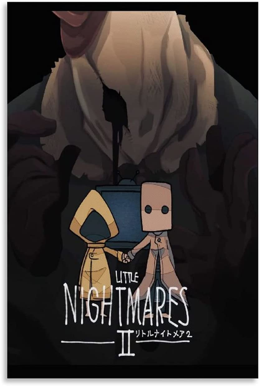 SENMUM Game Poster Little Nightmares and Canvas Wall Art Limited store Special Price