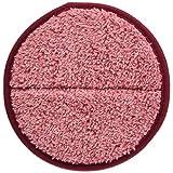 CCP コードレス回転モップクリーナー用モップパッド(ZJ-MA17/TZJ-MA817対応) 2枚入り ピンク EX-3655-00