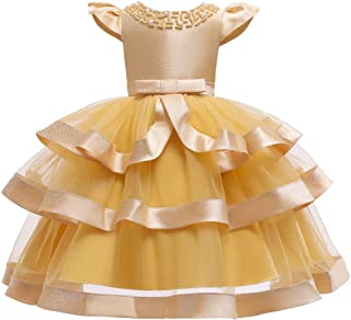 Pageant Party Dresses for Girls Ruffle Flower Girl Dress