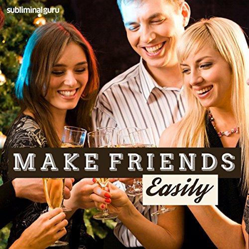 Make Friends Easily audiobook cover art