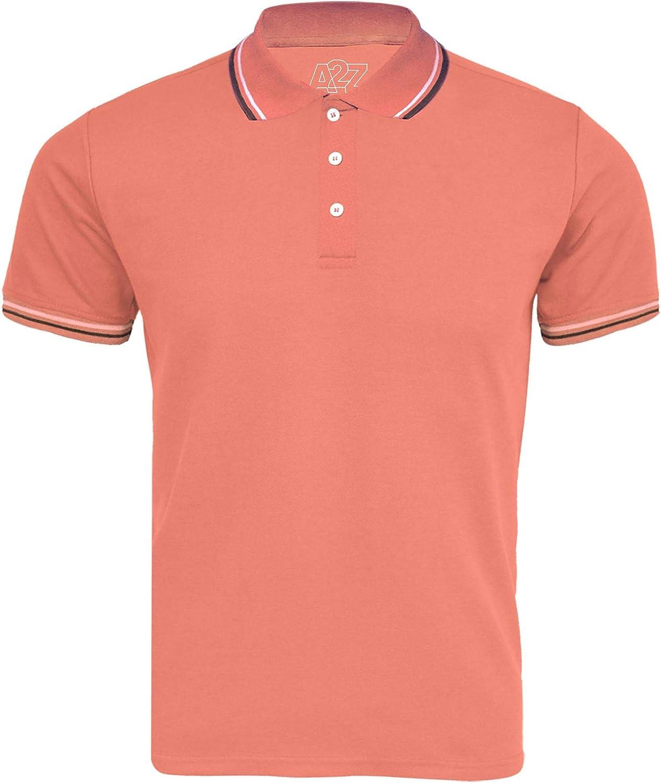 Kids Boys Girls Polo T Shirt Designer Plain Color School T-Shirts PE Top 3-13 Yr