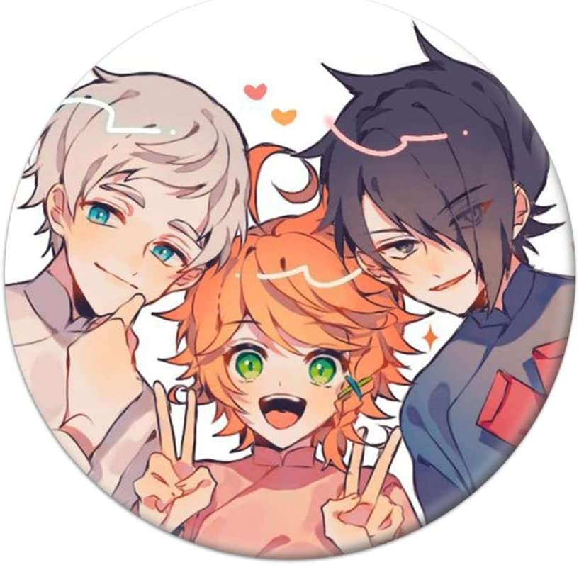 WerNerk Anime The Challenge the lowest price of Japan Limited time cheap sale ☆ Promised Neverland Cosplay Badge Cartoon Brooc