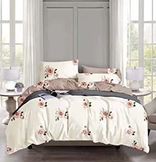 Comfortable Home 6piece King Size Bedding Sets, 1piece Quilt Cover=220x240cm,1piece Fitted Sheet=250x270cm, 2piece Pillow ...