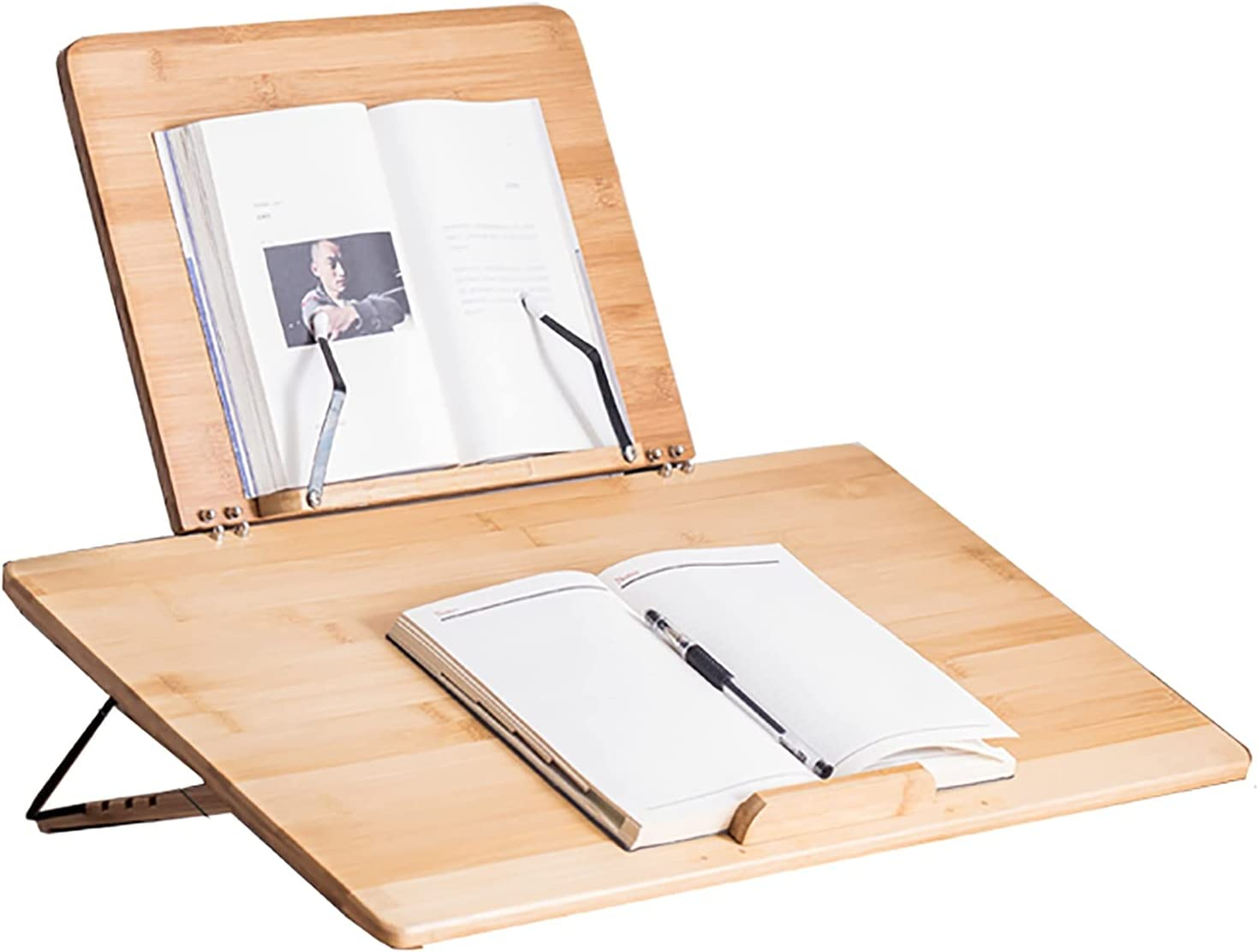 Book Stand Bamboo Foldable 67% OFF of fixed price Frame Ho Stand,Reading Rest Luxury goods