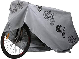 Rag & Sak® Waterproof Bicycle Bike Cover Heavy Duty Oxford Double stitching & Heat Sealed Seams, Protection from UV Rain S...