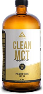 Clean MCT Oil: 100% Pure C8 Caprylic Acid Triglycerides | Best Ketogenic Supplement for Everyday Use | The Ultimate Keto C...
