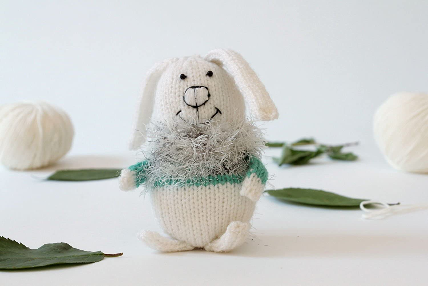 Knitted Toy  Hare