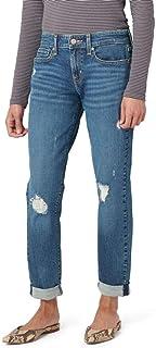 Juniors Mid Rise Boyfriend Jeans