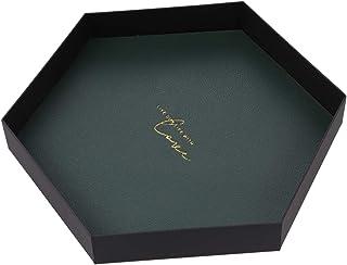 TOPBATHY メタルジュエリートレイトリンケット収納皿ディスプレイプレートノルディックスタイルリングホルダーイヤリングブレスレットネックレスギフトアクセサリー(小)