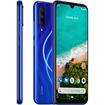 Xiaomi Mi A3 Smartphones 4 GB RAM + 128 GB ROM, Pantalla de 6.088, Procesador Octa-Core, 32 MP Frontal y 48 MP AI Triple Cámara, Color Azul (Otra version Europea): Amazon.es: Electrónica
