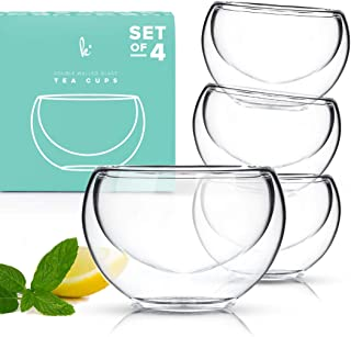 Best insulated glass tea cups Reviews