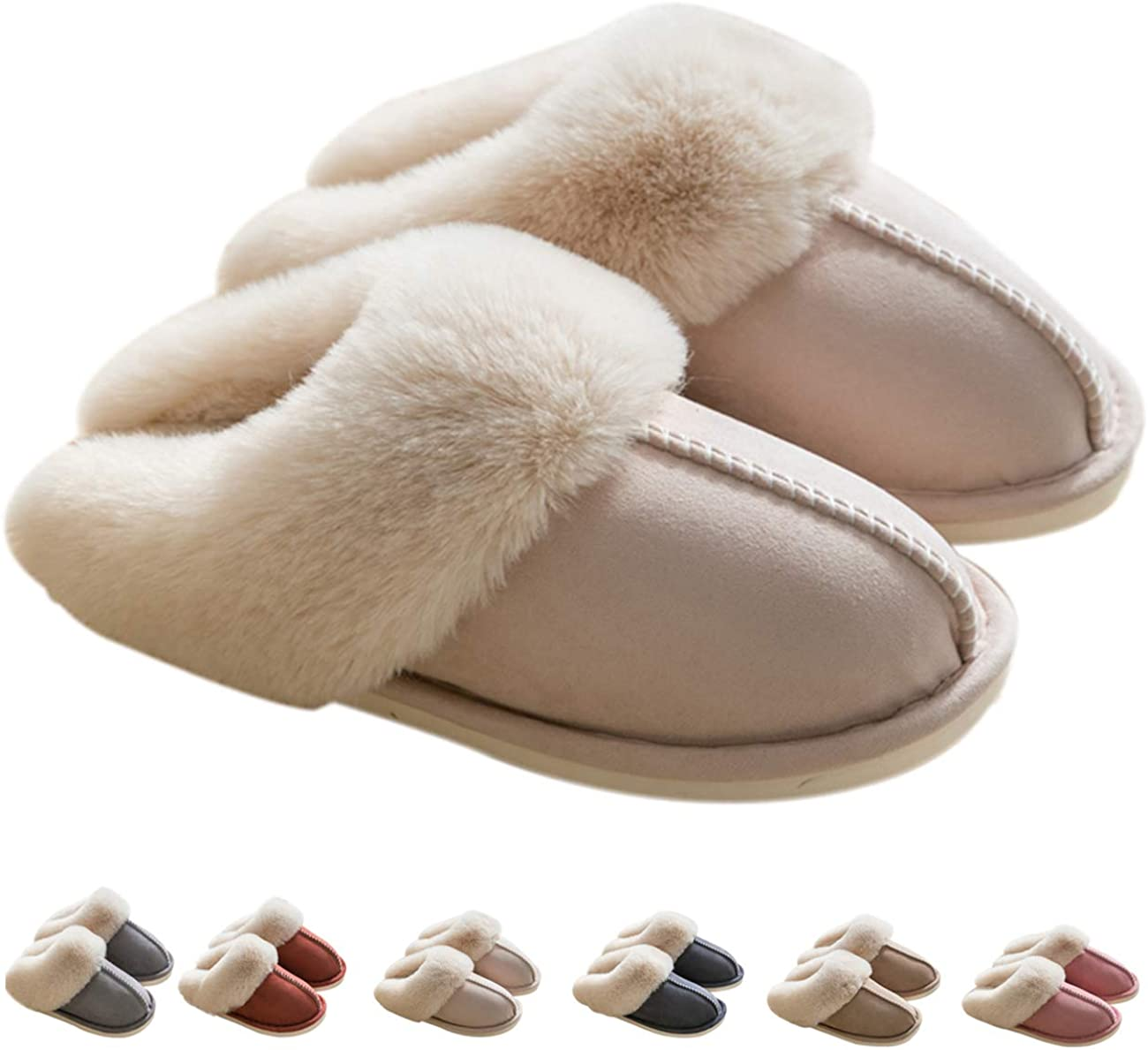 Womens Slipper Memory Foam Fluffy Soft Slip Latest item Hou Ranking TOP11 On Warm Slippers