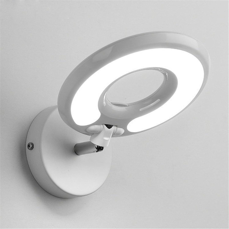 Modern LED Wandleuchte Kreative Schlafzimmer Hotelstudie Auge Wandlampe mit Schalter LED Wandleuchte wei Vintage Retro Café Loft Bar Flurlampe, Wandlampe Upaus Aluminium für Flur Korridor.
