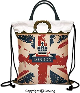 fb800aa42488 Amazon.com: booster - Polyester / Drawstring Bags / Gym Bags ...