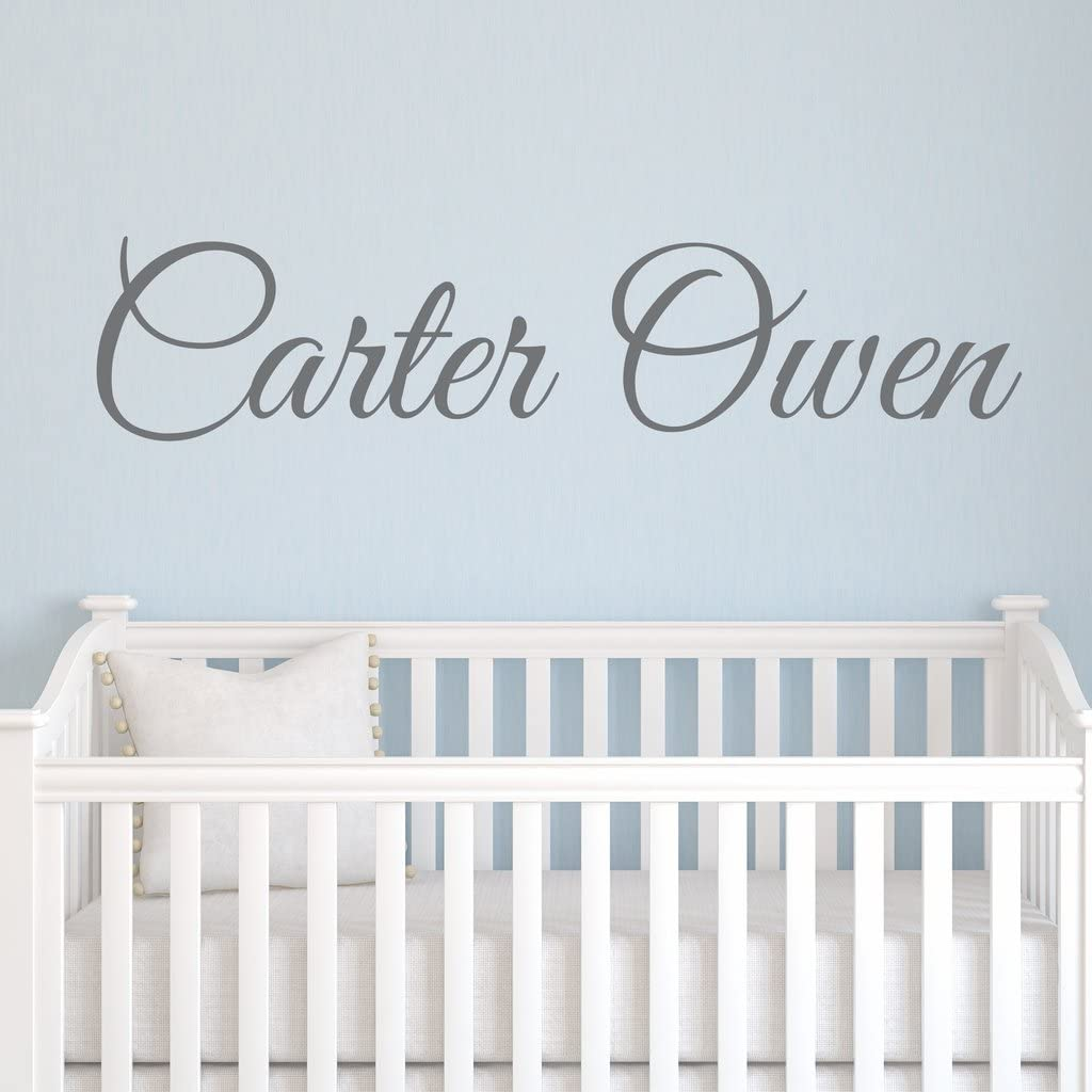 Boys Popular shop is the lowest price challenge Nursery Personalized Custom Special price Name Vinyl Decal Art Wall Stick