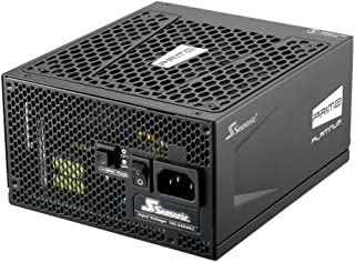 Seasonic Prime Ultra 650 Platinum SSR-650PD2 650W 80+ Platinum, Full Modular, 135mm Fdb Fan W/Hybrid Fan Control, Compact 140mm Size, Power On Self Tester, 12 Yr Warranty Power Supply
