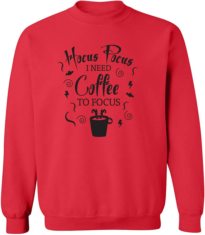 Hocus Pocus I Need Coffee Crewneck Sweatshirt
