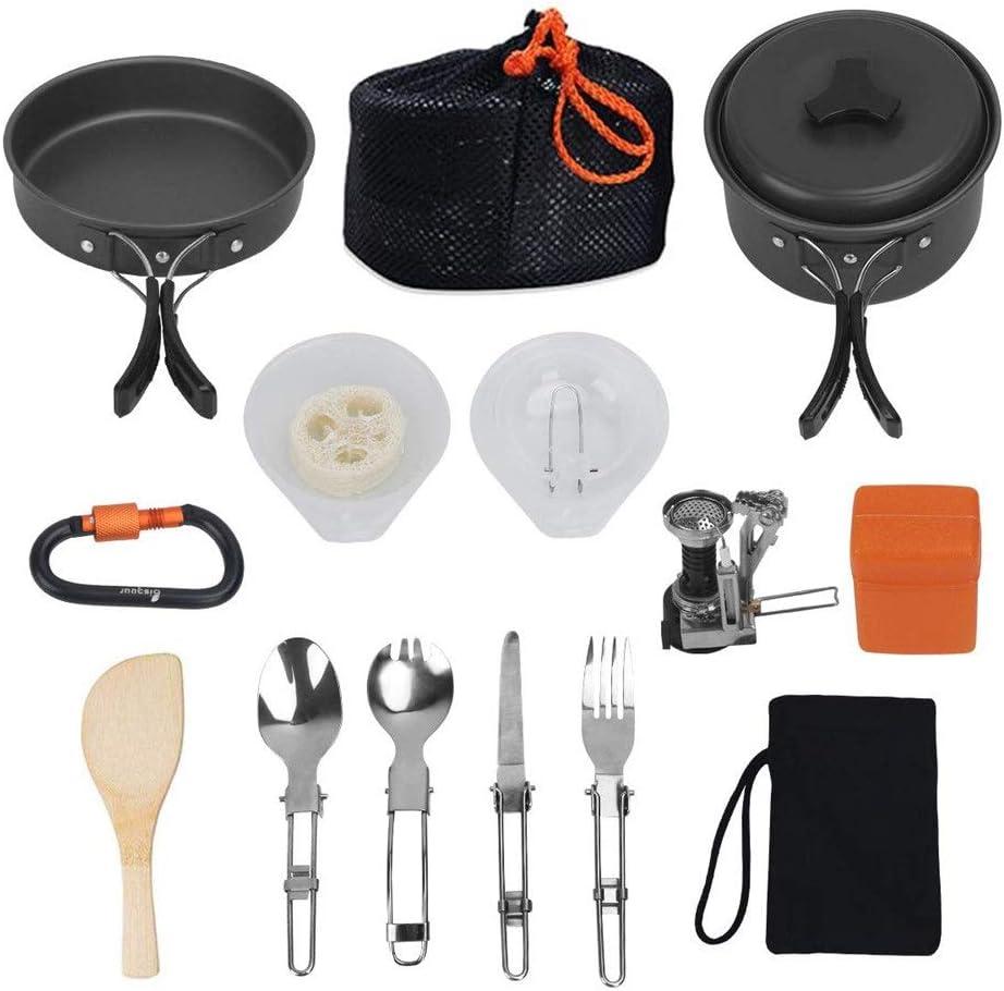 Set de utensilios de cocina de camping Juego de utensilios de ...