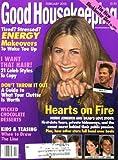 Good Housekeeping February 2000 Jennifer Aniston on Cover, Jennifer and Brad Pitt s Love Story, Winona Ryder & Matt Damon, Michael Douglas & Catherine Zeta-Jones, Nicholas Sparks Fiction (long)