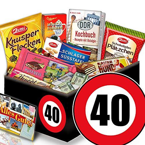 Geschenke 40 Geburtstag / Ostbox Schoko / Geschenke 40er Geburtstag