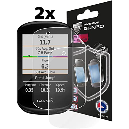 AirGlass Extreme Scratch Resistant brotect Glass Screen Protector compatible with Garmin Edge 520//820 Glass Protector