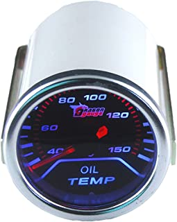 Beennex 2 Inch 52mm LED Light Car Pointer Oil Temperature Temp Gauge 50-150℃